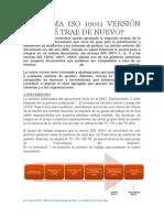 LA NORMA ISO 19011 VERSIÓN 2011