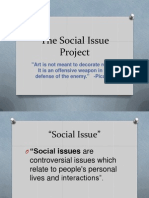 High School Social Issue Project