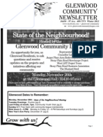 The Glenwood Community - Winter Newsletter