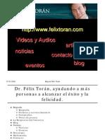 Dr Felix Toran - Articulos El Secreto - La Ley de La Atracción