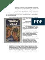 """Ensayo del Libro """"Tropa Vieja"""""""