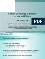 Section 3 - HBV Roadmap