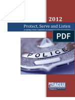 ACLU Report on Connecticut  police departments