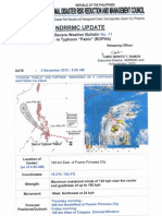 NDRRMC UPDATE re SWB No. 11 for Typhoon PABLO