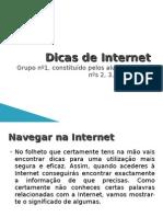 Dicas de Internet