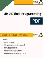 LINUX Shell Programminglec1
