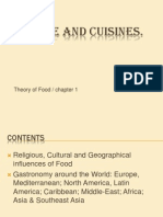 World Culture and Cuisines