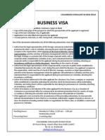 Business Visa India