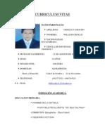 Curriculum Vitae-william Criollo