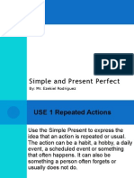 Simple and Present Perfect