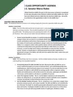 Rubio Kemp Fact Sheet