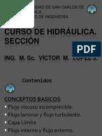 2da_Clase_CURSO_DE_HIDRÁULICA_segundo_semestre_2012