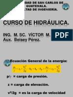 3ra._Clase_CURSO_DE_HIDRÁULICA_segundo_semestre_2012