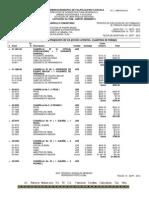 Básicos para la integración de los precios unitarios. (cuadrillas de trabajo)