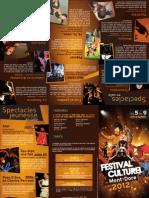Programme Du Festival Culturel Du Mont-Dore 2012