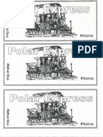 Polar Express Ticket