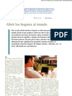 Domótica Viva. Noticias Artículo Publicado
