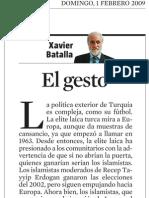 Xavier Batalla. El Gesto