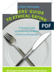 2013 ROC National Diners' Guide to Ethical Eating