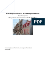 Mémoire - Trame urbaine - Comité des citoyens de Saint-Roch
