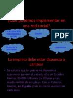 Qué podemos implementar en una red social