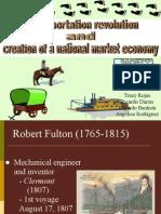 Transporation Revolution and National Market Economy (2)
