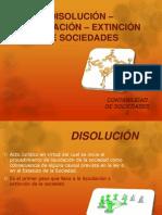 Diapositivas - Disolucion Liquidacion y Extincion Soc.