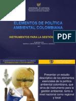 Elementos de Política Ambiental Col.