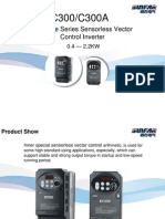 C300 Series Mini-Type Sensorless Vector Control Inverter