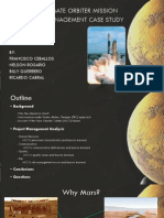 Mars Climate Orbiter Project Management Analysis