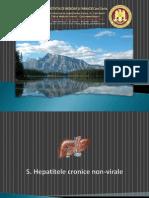 7. Hepatitele Cronice Non-Virale