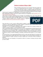introduction et conclusion d'hugo et julien