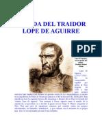 La Vida Del Traidor Lope de Aguirre