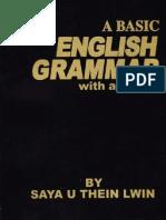 A Basic Grammar - ဆရာဦးသိန္းလြင္