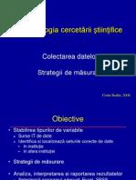 Curs 3 CB Metodologia Cercetarii 2008