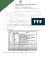 JNTUK DAP B.tech Regulations R10 Batch Students