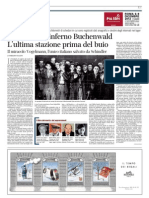 I dossier dall'inferno Buchenwald di Corrado Stajano - Il Corriere della Sera 05-12-12