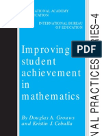 Improving Student Achievement in Mathematics