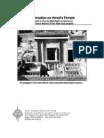 Herods Temple Packet 3