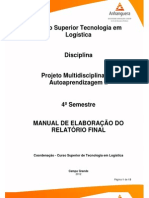 MATERIAL de APOIO PMA+II TLG4 Manual Orientacao Modelo Comentado 2012 2