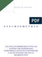 Chimica 12 Corso Di Stechiometria