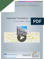Interview TrendyBuzz