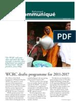 Reformed Communiqué  March 2011