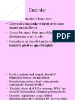 Enzimler Genel (Prof. Dr. Sabahattin Muhtaroğlu)