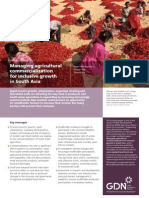 Managing agricultural commercialization for inclusive growth in South Asia