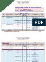 FINAL EXAM SCHEDULE  (5TH DECEMBER 2012) -DS308