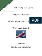 Instituto tecnológico de Lerma cuestionario