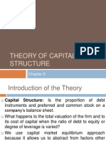 theory of capital structure