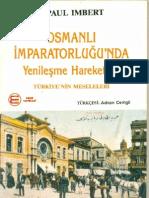 Paul Imbert - Osmanlı İmparatorluğunda Yenileşme
