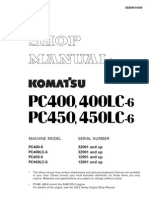 PC450-6 Shop Manual